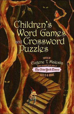 Children's Word Games And Crossword Puzzles