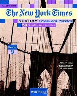 New York Times Sunday Crossword Puzzles, Volume 9