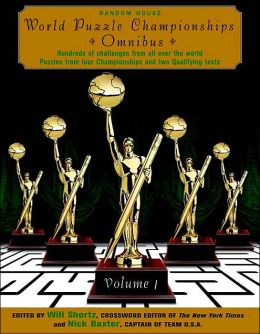 World Puzzle Championships Omnibus, Volume 1
