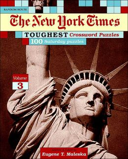 New York Times Toughest Crossword Puzzles, Volume 3