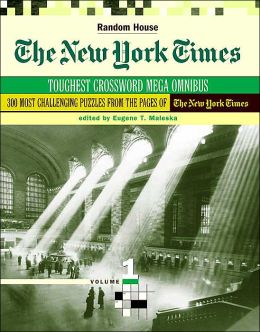 New York Times Toughest Crossword MegaOmnibus