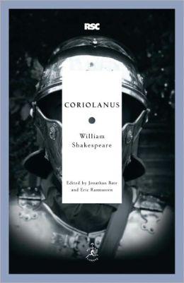 Coriolanus (Modern Library Royal Shakespeare Company Series)