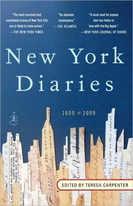 New York Diaries: 1609 to 2009