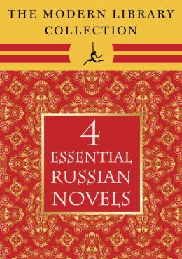 The Modern Library Collection Essential Russian Novels 4-Book Bundle