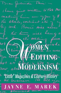 Women Editing Modernism: