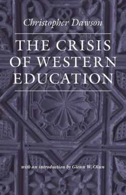 The Crisis of Western Education