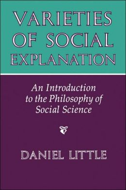 Varieties Of Social Explanation