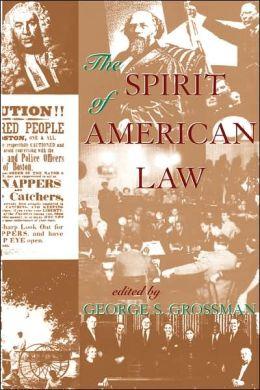 Spirit of American Law: An Anthology