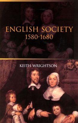 English Society: 1580-1680