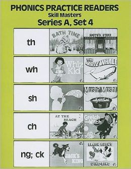 Phonics Practice Readers: Skill Masters: Series A, Set 4: Diagraphs