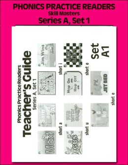 Phonics Practice Readers, Series A, Set 1: Short Vowels Package: 10 Readers/Teacher's Guide/Skillmasters