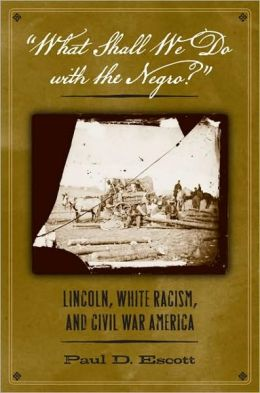 What Shall We Do with the Negro?: Lincoln, White Racism, and Civil War America