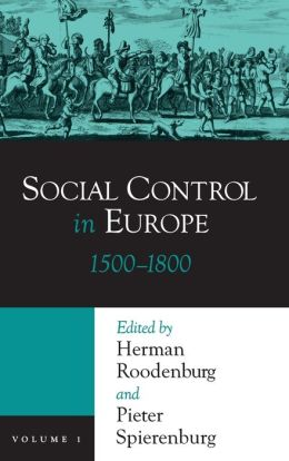 Social Control in Europe: 1500-1800