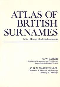 Atlas of British Surnames