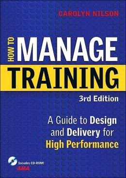 How to Manage Training