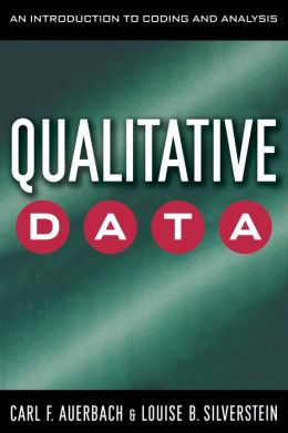 Qualitative Data: An Introduction to Coding and Analysis