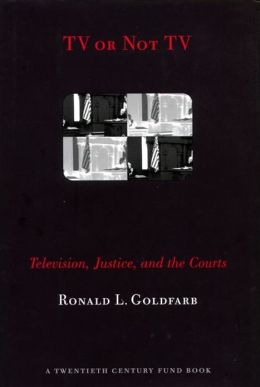 TV or Not TV: Television, Justice, and the Courts