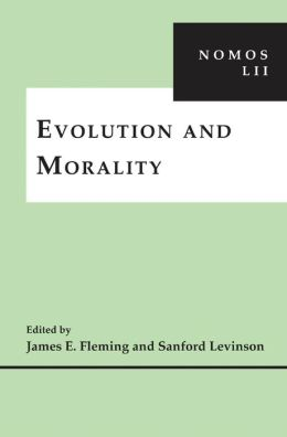 Evolution and Morality: NOMOS LII
