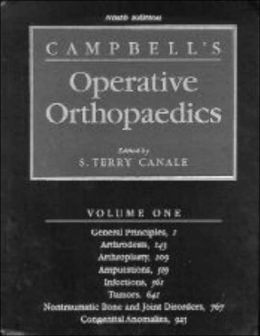 Campbell's Operative Orthopaedics, 4 Volume Set