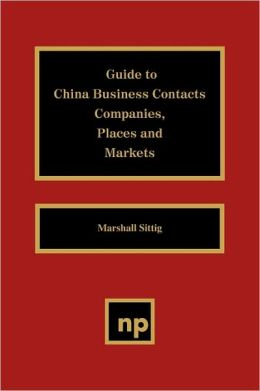 Guide to China Business Contacts Co.