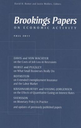 Brookings Papers on Economic Activity: Fall 2011