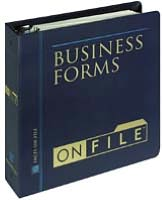 Business Forms on File 2003