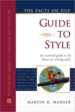 Facts on File Guide to Style