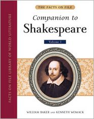 The Facts On File Companion to Shakespeare 5-Volume Set