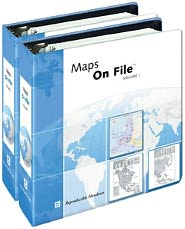 Maps on File®, 2010 Edition, 2-Volume Set