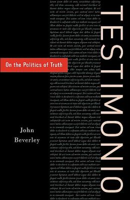 Testimonio: On the Politics of Truth