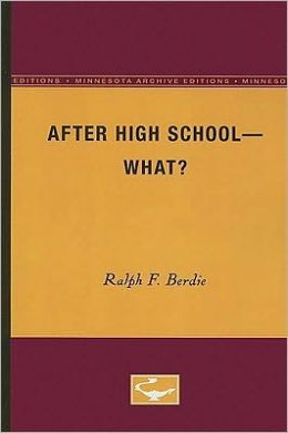 After High School - What?