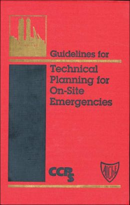 Technical Planning for on-Site Emergencies