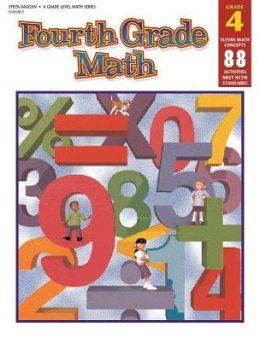Steck-Vaughn Grade Level Math: Student Workbook Grade 4