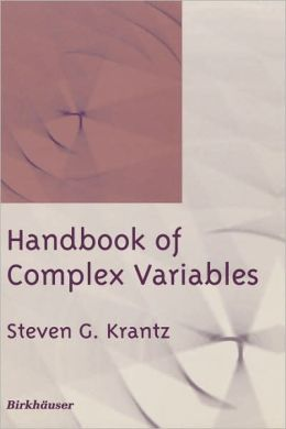 Handbook of Complex Variables