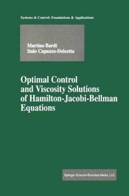 Optimal Control and Viscosity Solutions of Hamilton-Jacobi-Bellman Equations