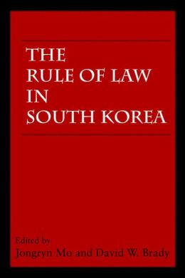 The Rule of Law in South Korea