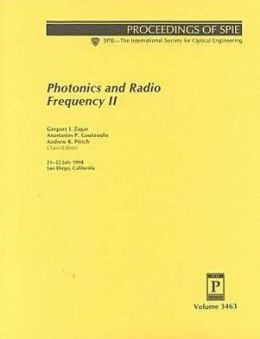 Photonics and Radio Frequecy II