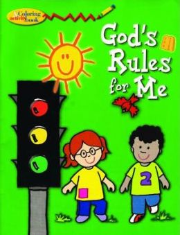 God's Rules for Me: Coloring and Activity Book