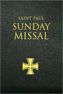 Saint Paul Sunday Missal: Black Leatherflex