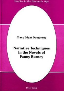 Narrative Techniques in the Novels of Fanny Burney