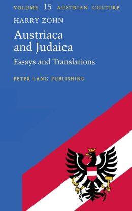 Austriaca and Judaica: Essays and Translations