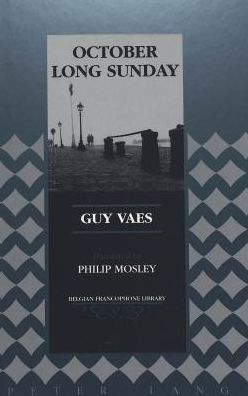 Translation of Guy Vaes' October Long Sunday