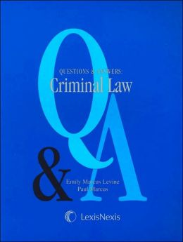 Q&A: Criminal Law (2003)