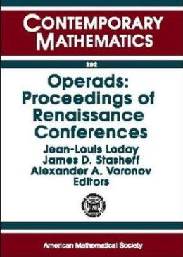 Operads: Proceedings of Renaissance Conferences