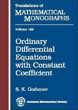 Ordinary Differential Equations with Constant Coefficient