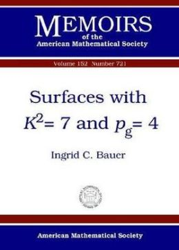 Surfaces with K2=7 and Pg=4
