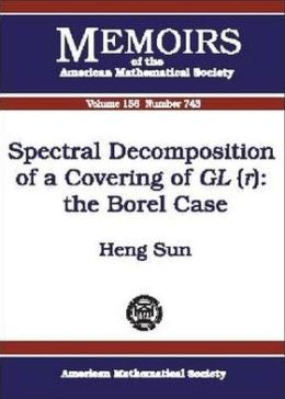 Spectral Decomposition of a Covering of GL (r): The Borel Case