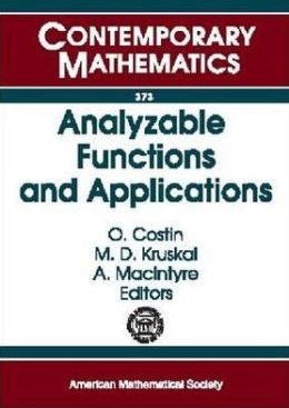 Analyzable Functions and Applications