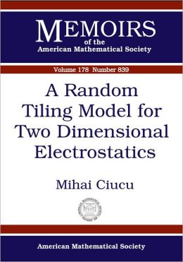 A Random Tiling Model for Two-Dimensional Electrostatics