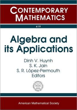 Algebra and It's Applications